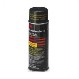 3M Repositionable 75 Spray Adhesive — 30067-7