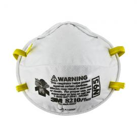 3M Particulate Respirator 8210Plus, N95 160 EA/Case — 52924-8